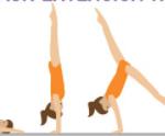 Erişmek Amut | Cimnastikte Erişmek Amut Nasıl Yapılır