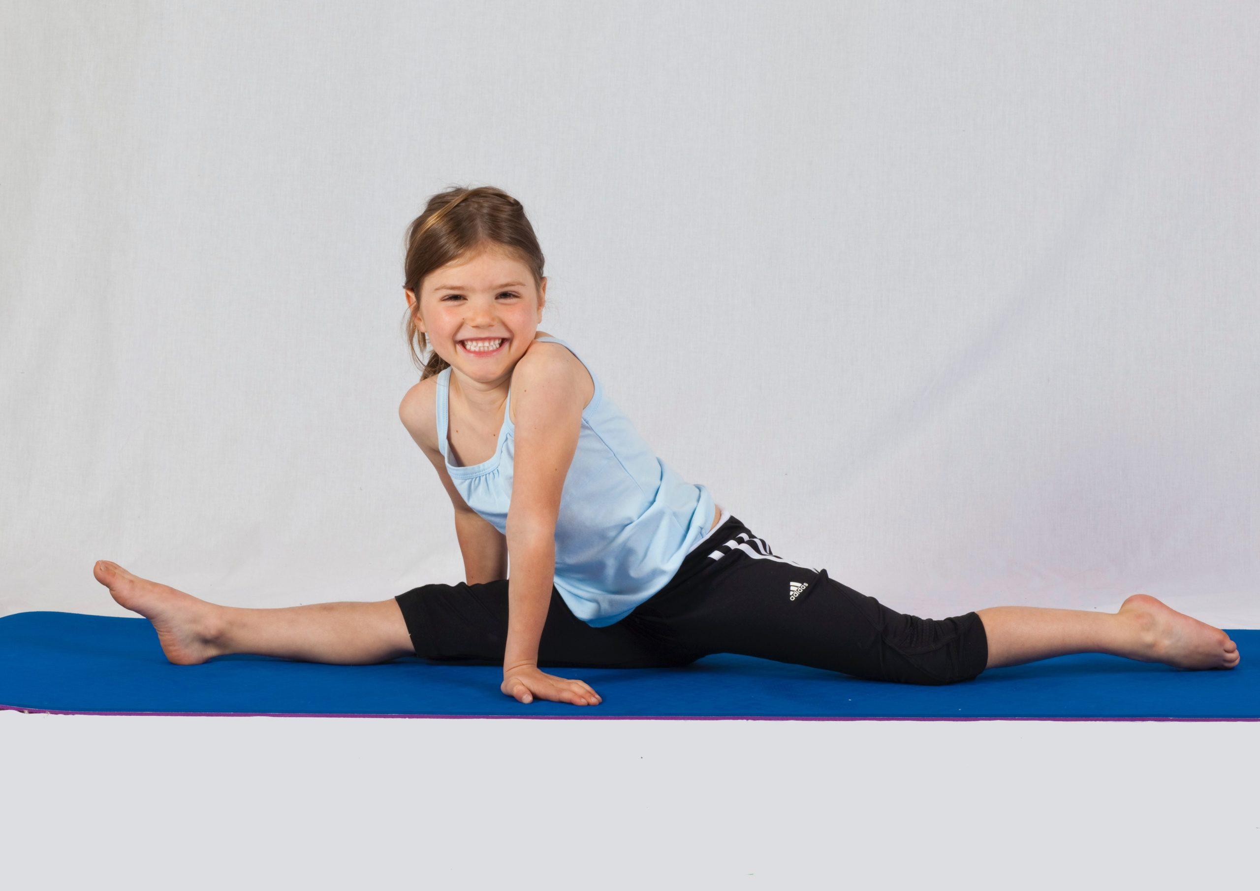 Evde cimnastik dersleri